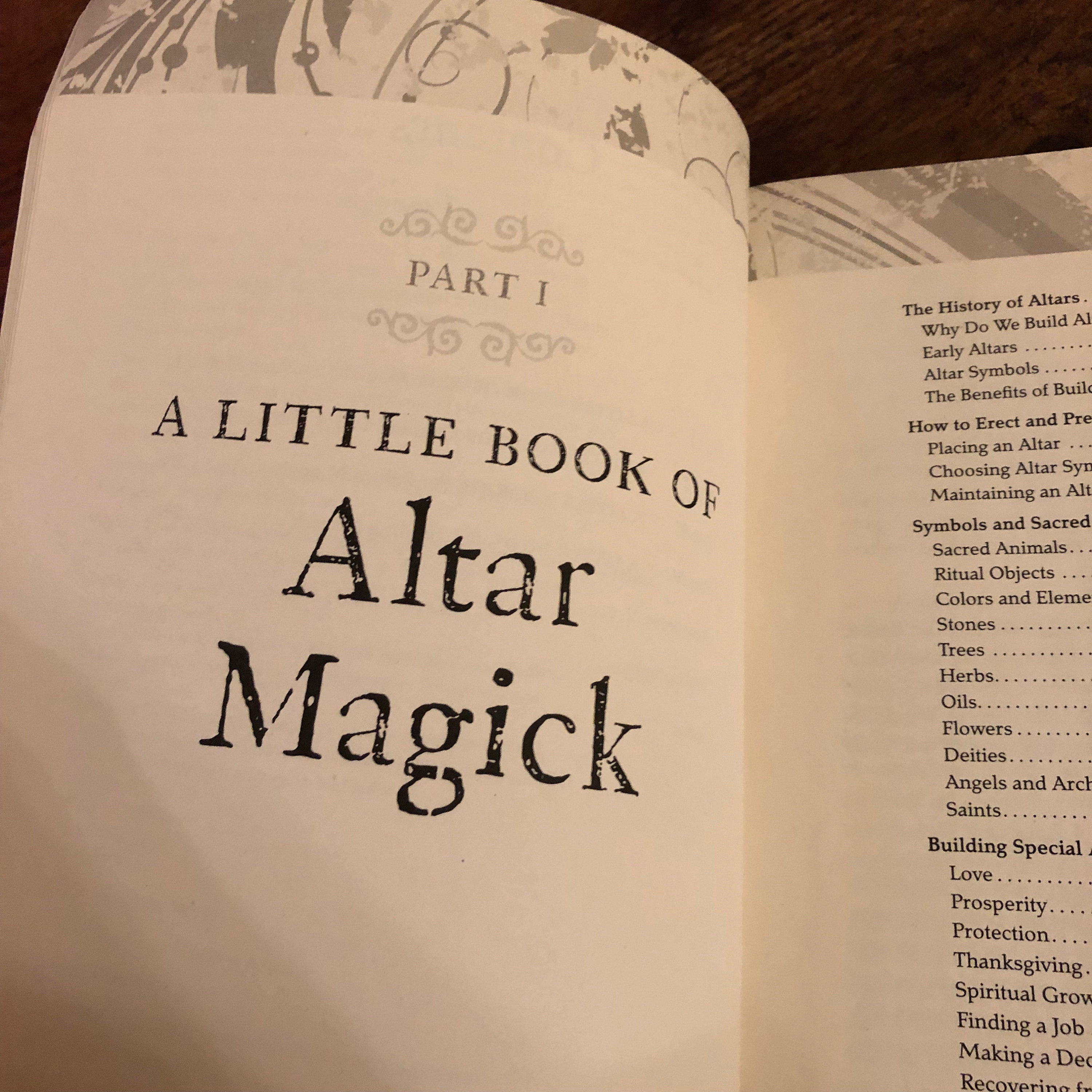 Book of Magick softcover Book White Witch Altar Healing Spells