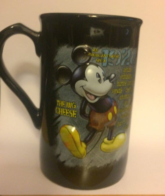 Aid World Land The Kool Mug Wdw Tea Walt Cheese Mouse Big Soda Sodapop Disney Mickey Collectibles Coffee Collectors iuPkTOZX