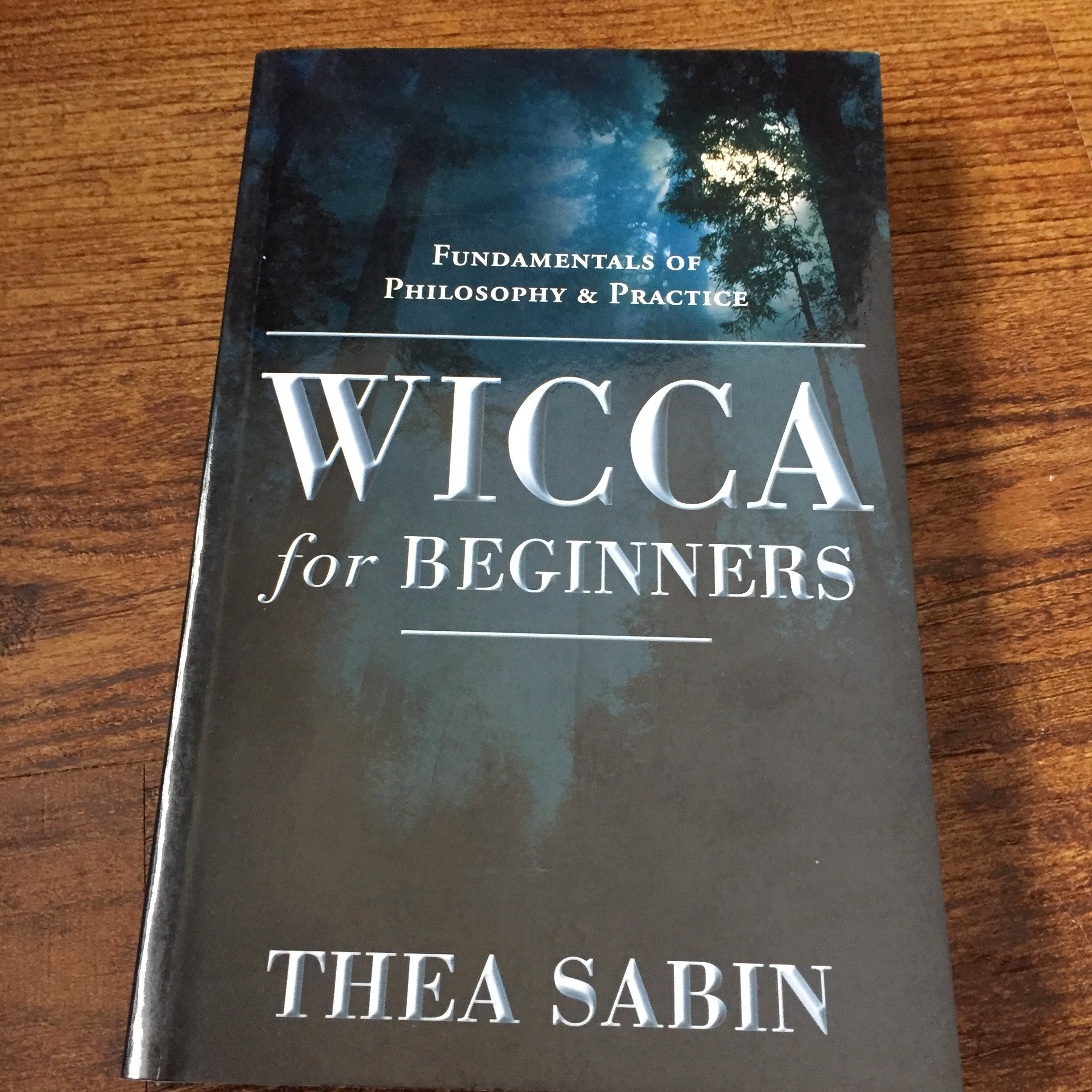 Wicca for Beginners Softcover Book Wiccan Witch Witchcraft