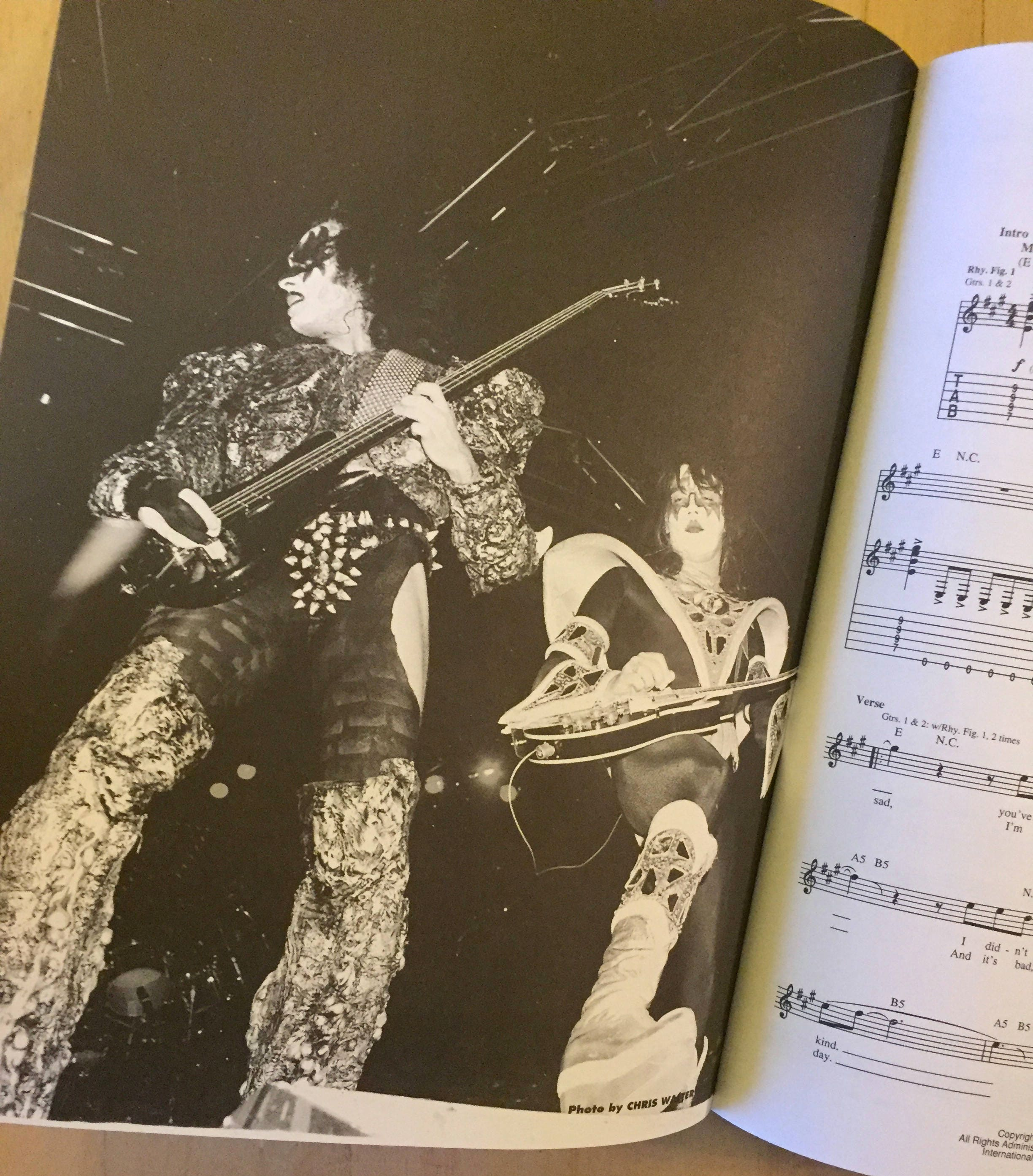 Best of KISS Hal Leonard for guitar - Softcover sheet music