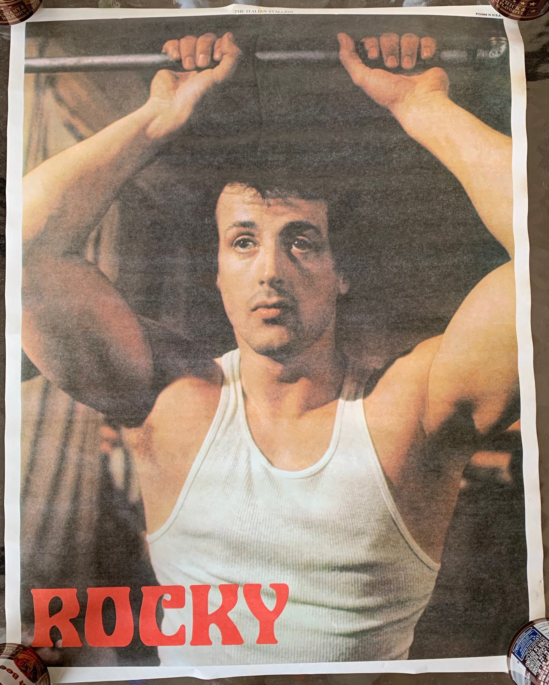 Rocky Balboa Poster Eat Lightning And Crap Thunder Paper Poster No Frame From US