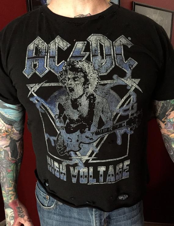 Whole Lotta Rosie AC//DC T Shirt Forty Two Thirty Nine Fifty Six Bon Scott