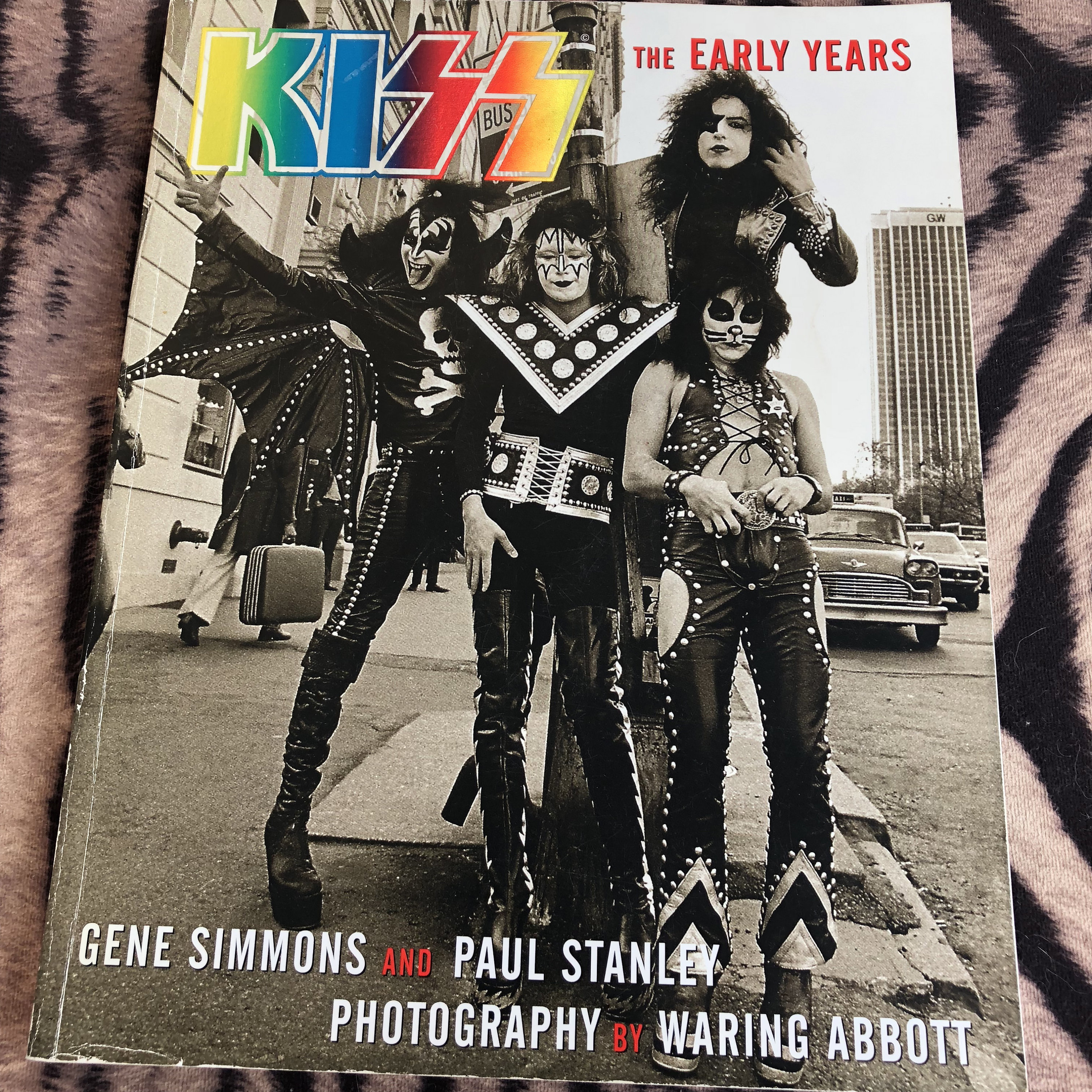 KISS - The Early Years softcover Book Kissband Kiss Army