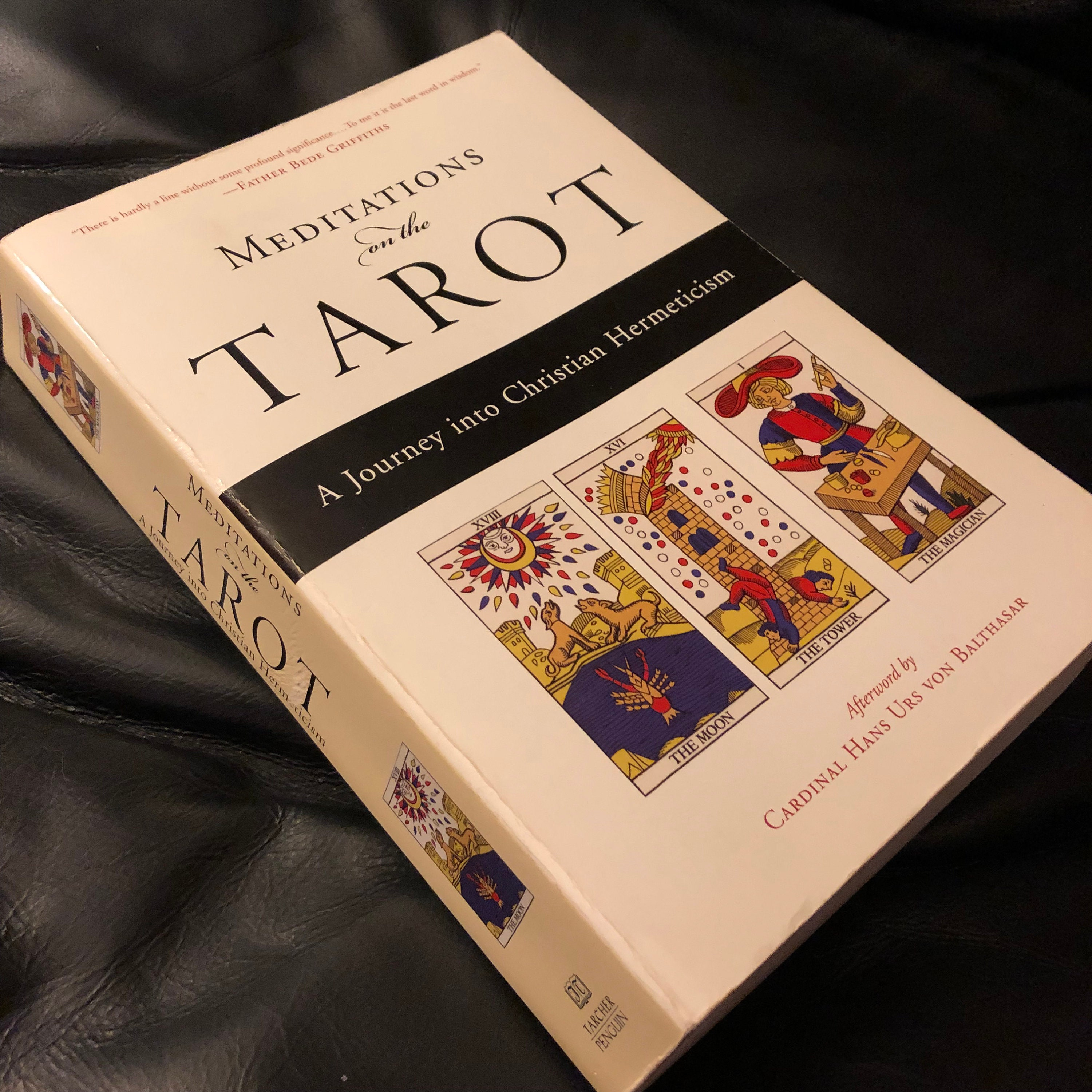 Vintage Meditations on the Tarot 2002 Softcover Book - Witch