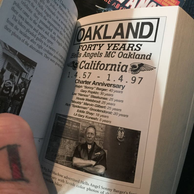 Vintage Hells Angels True Crime paperback books Motorcycles Harley Davidson  Crime outlaws sons of anarchy biker bikers gangs motorcycle gang