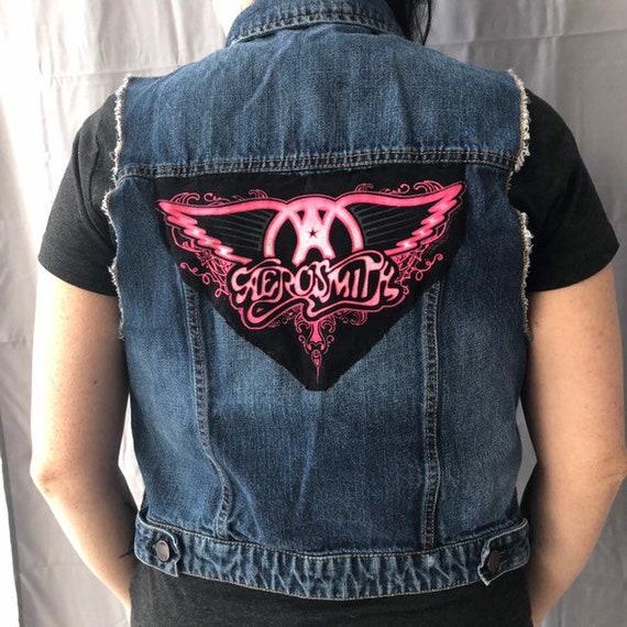 SALE-Aerosmith Denim Jacket