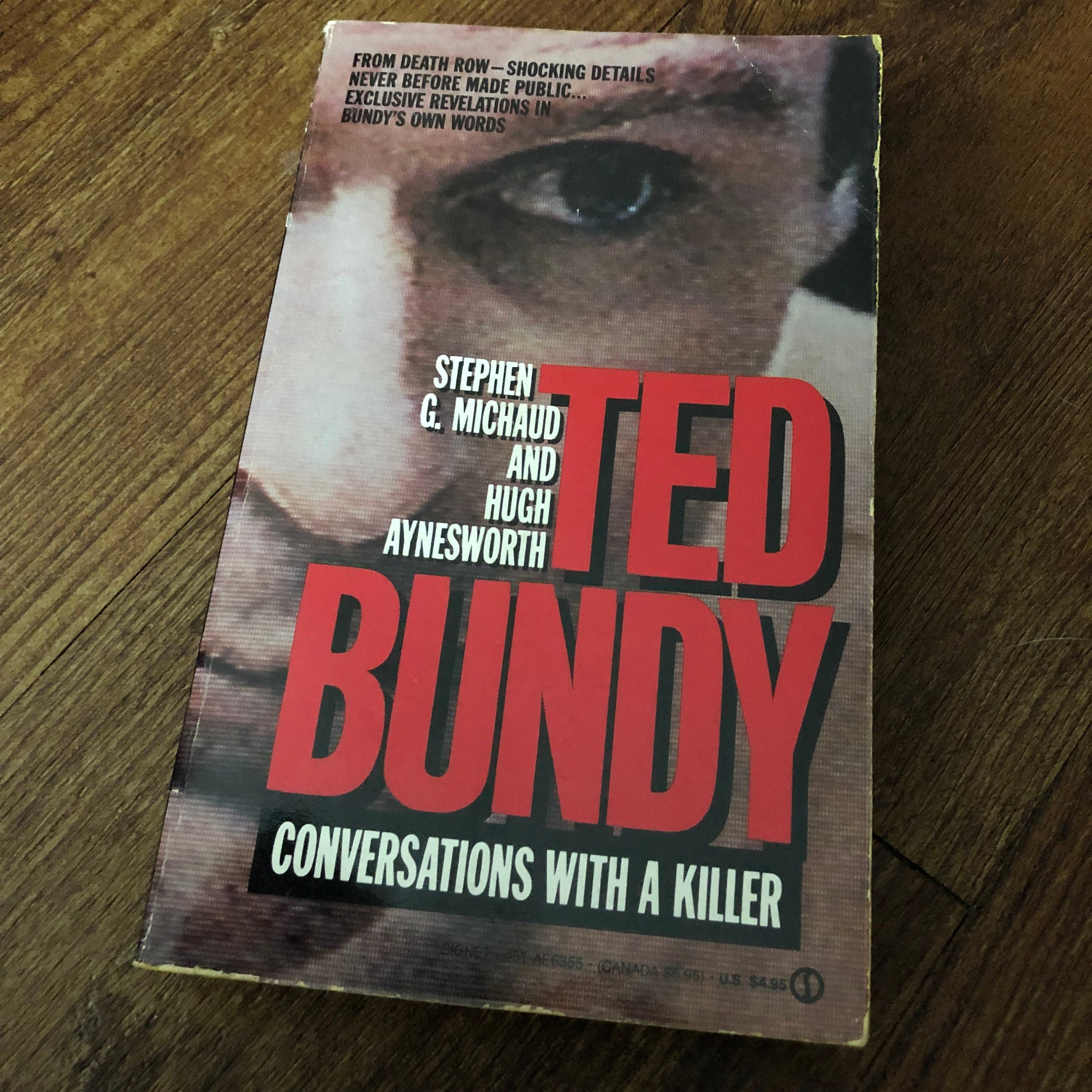 VINTAGE 1989 Ted Bundy Softcover Book Netflix Conversations