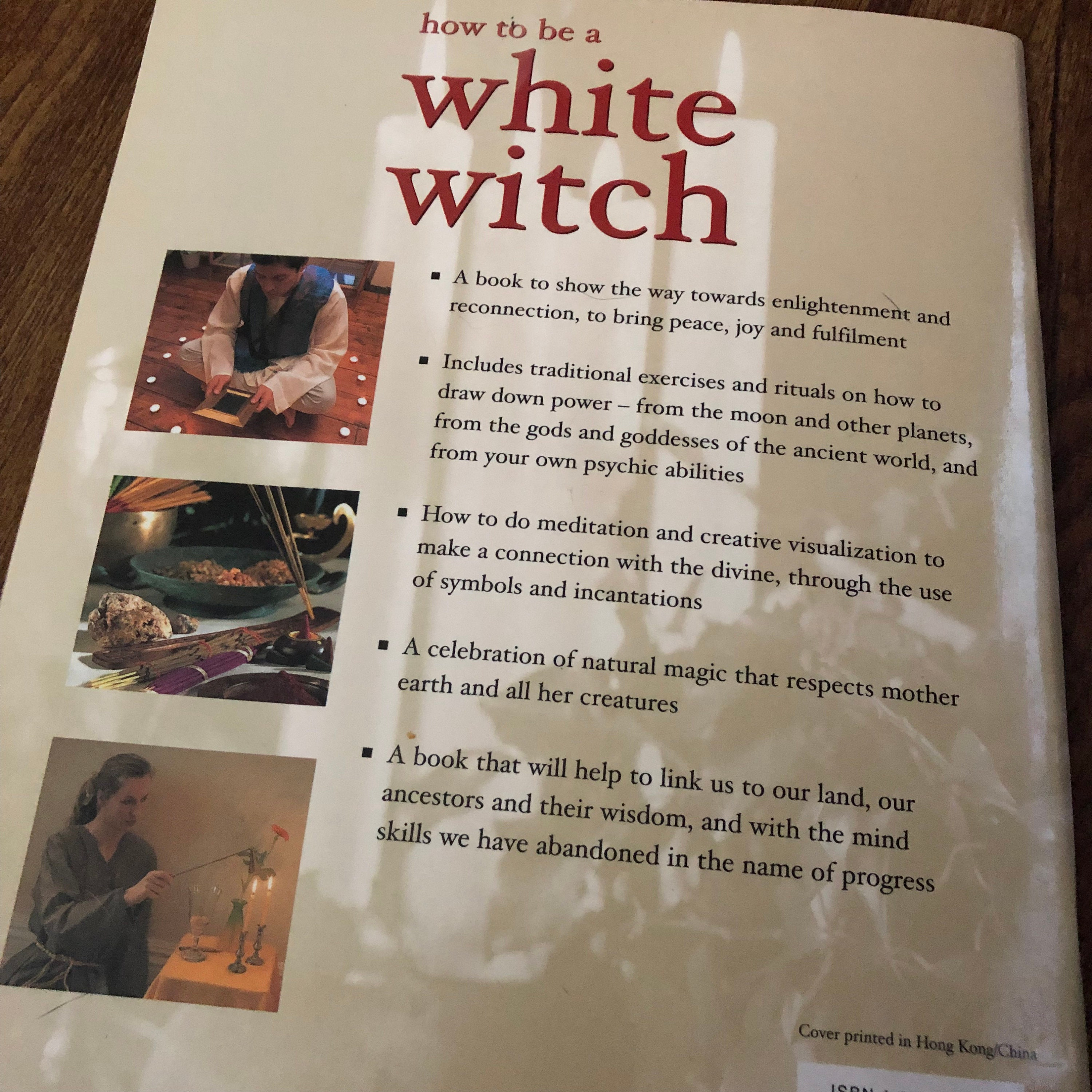 How to be a White Witch softcover Book - Wiccan witch witchcraft