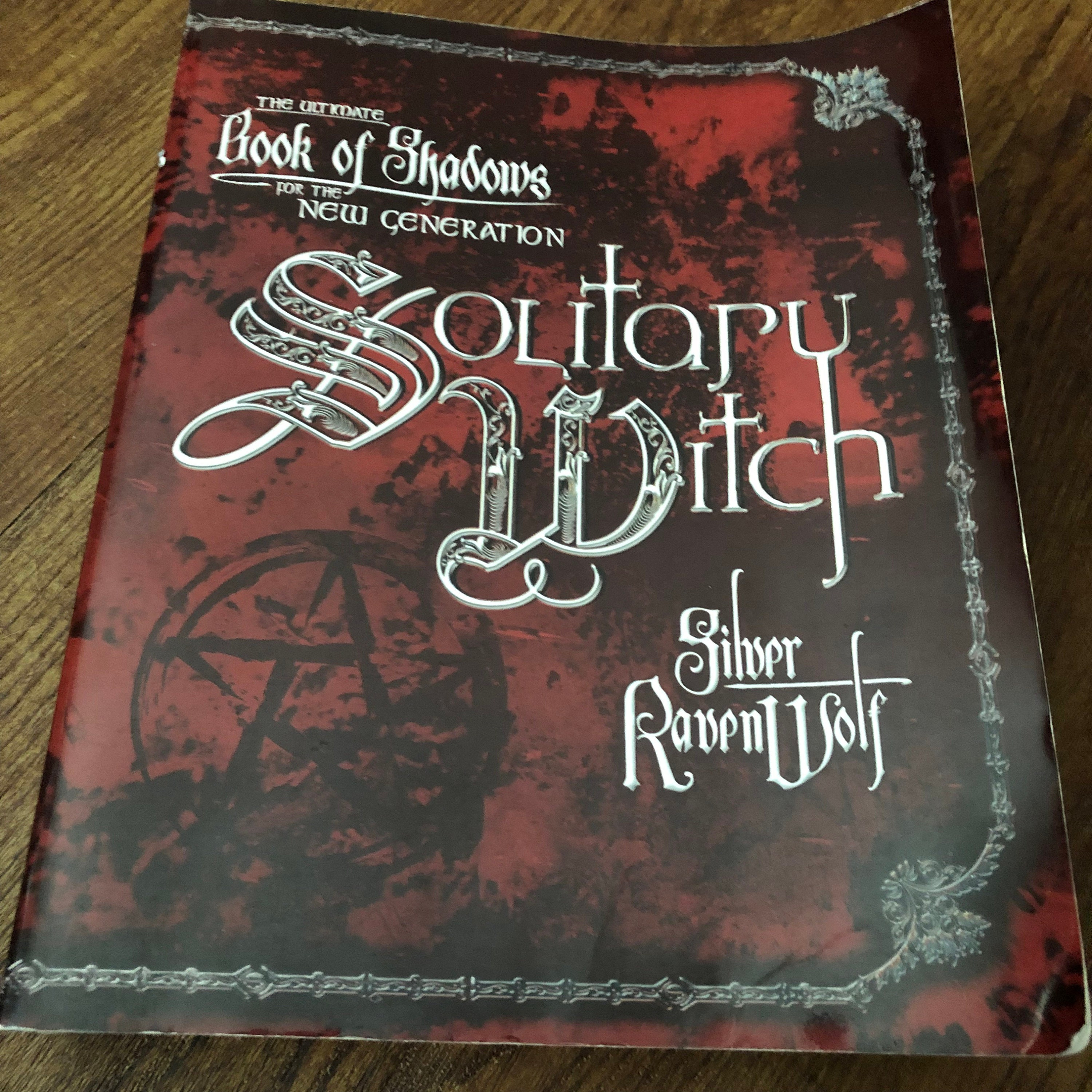 Book of Shadows for the Solitary Witch Witches Softcover