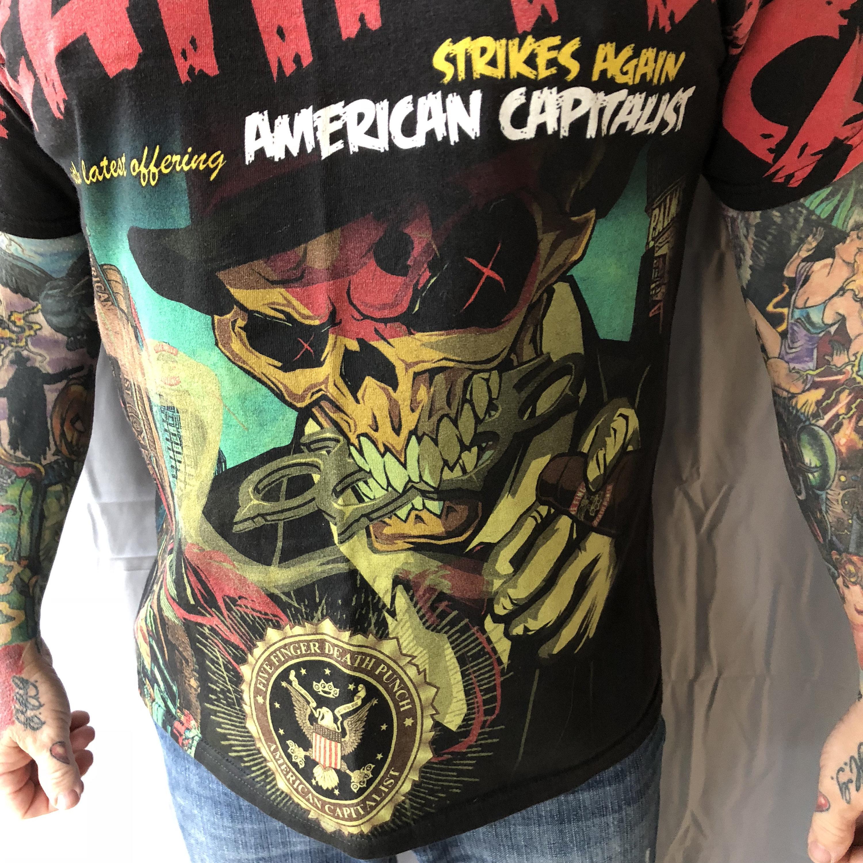 five finger death punch american capitalist  zip