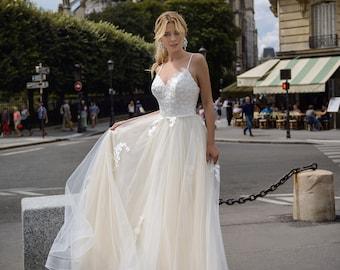 Irish Wedding Dress Etsy