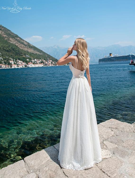 NYC Wedding dress wedding Beatrix A wedding line from White Ivory dress Bride wedding dress dress rttwnqZP
