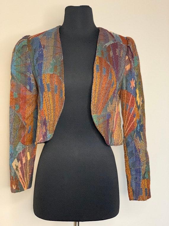 Crop 80s Jacket