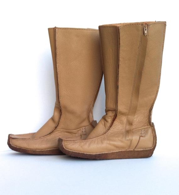 JOHN FLUEVOG Loafer Moccasin Boots Size 7 Women's