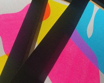 Limited Edition A5 Fluro Print Bundle