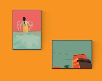 A6 Summer Postcard Bundle