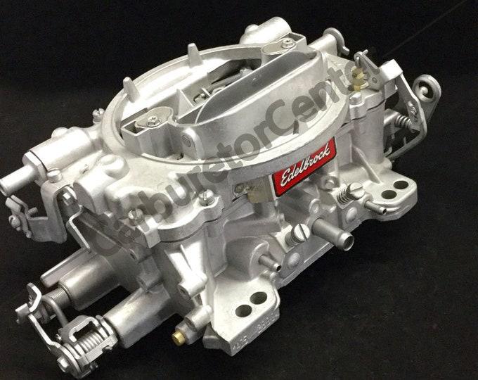 Edelbrock 600CFM 4BBL w/Hand Choke Carburetor *Remanufactured