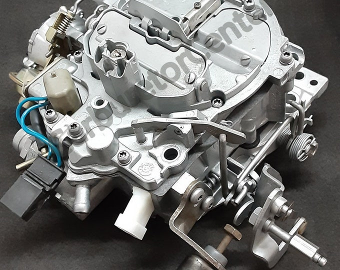 1985-1986 Chevrolet Rochester 17085526 Quadrajet Carburetor *Remanufactured