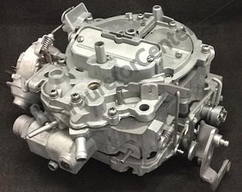 1985-1986 Chevrolet 350 Rochester Quadrajet 4BBL Carburetor *Remanufactured