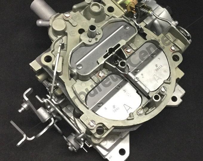 1980 Pontiac Trans Am Turbo Rochester Quadrajet 4BBL Carburetor *Remanufactured