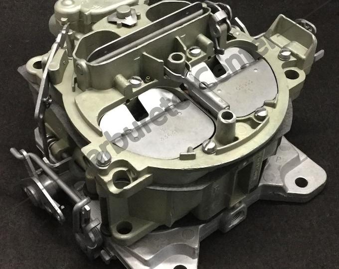 1971 Pontiac Rochester 7041262 Quadrajet Carburetor *Remanufactured