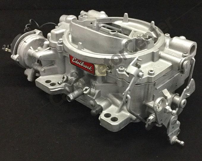 Edelbrock 600CFM 4BBL w/Electric Choke Carburetor *Remanufactured