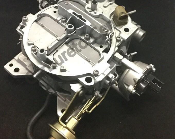 1985-1986 GMC K20 Rochester Quadrajet 4BBL Carburetor *Remanufactured