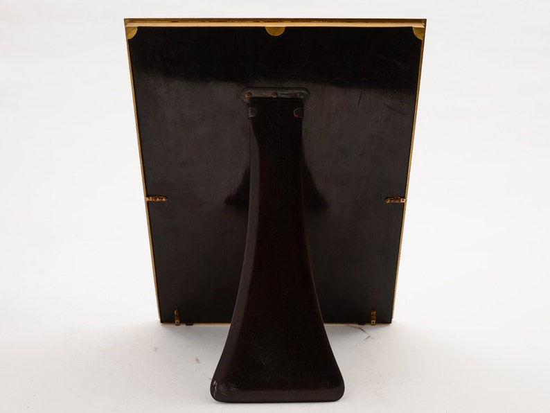 Circa 1930 Large Brass Photo Frame