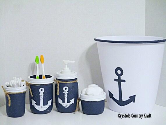 Anchor Bathroom Decor Beach, Sailor Themed Bathroom Accessories