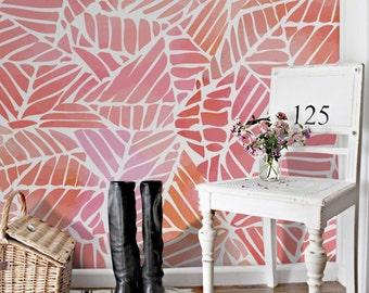 Abstract watercolor pattern wallpaper    Removable wallpaper, just peel and stick!    #30