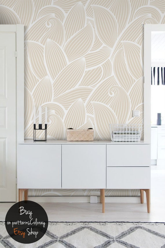 Chain pattern wallpaper Abstract geometric wallmural Minimalist print Removable or traditional material wallpaper Wall decor #13