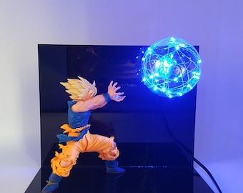 Goku SSJ Kamehameha Lamp