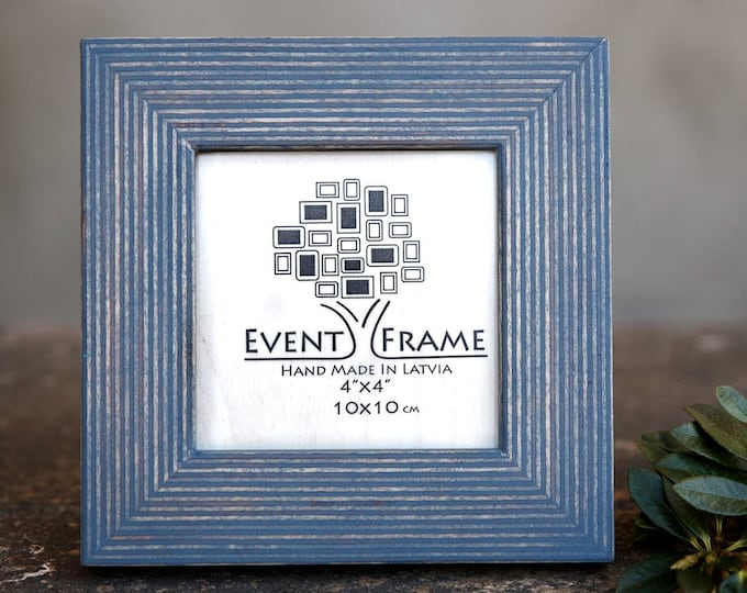 Standard Gray Wooden Picture Frame