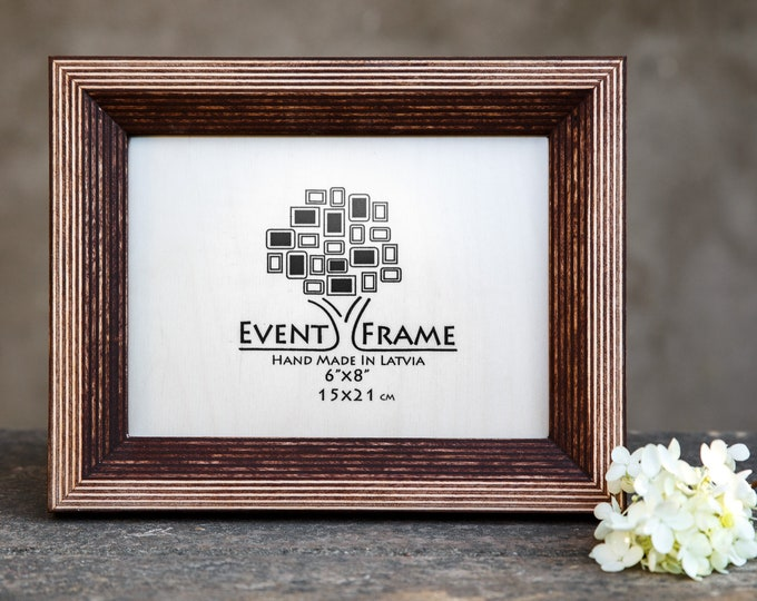 Newest Design Brown Wooden Picture Frame