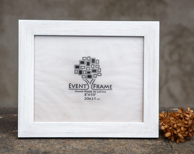 Standard White Wooden Picture Frame