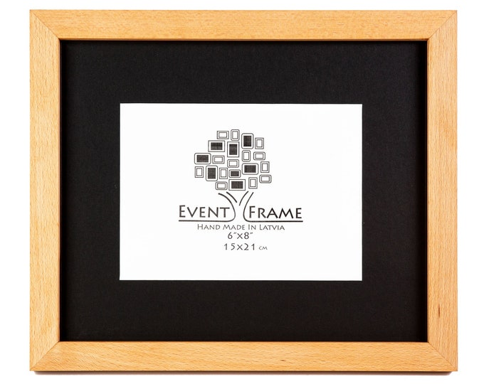 Beach Wood Picture Frame 23mm molding