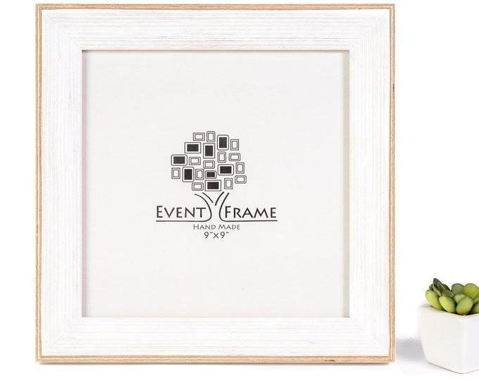 Classic White Picture Frame