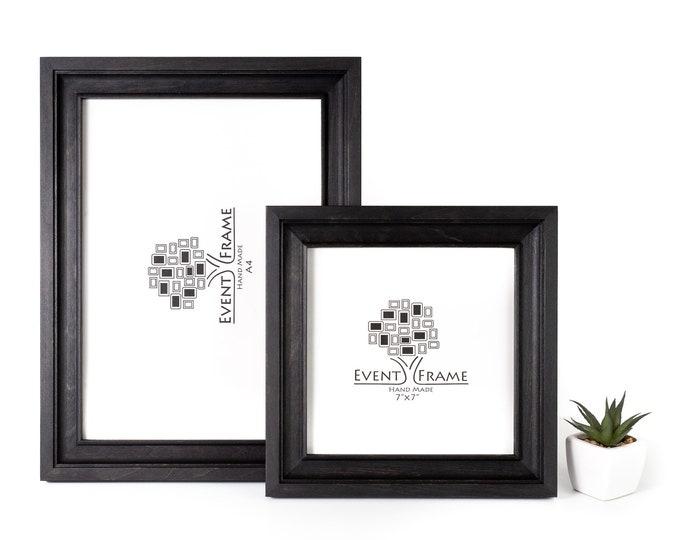 Black Birch Hardwood Picture Frame