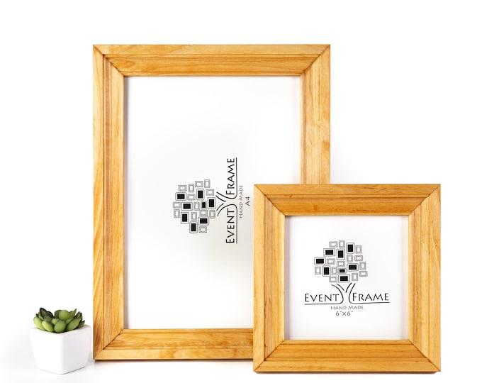 Natural Birch Hardwood Picture Frame
