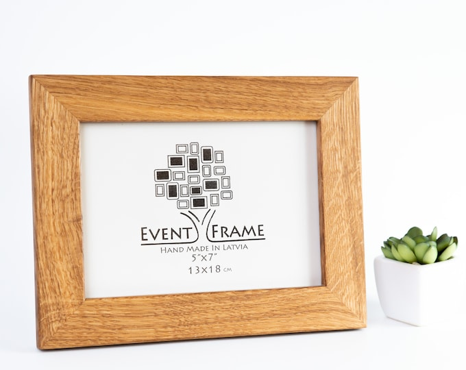 Oak Wooden Picture Frame
