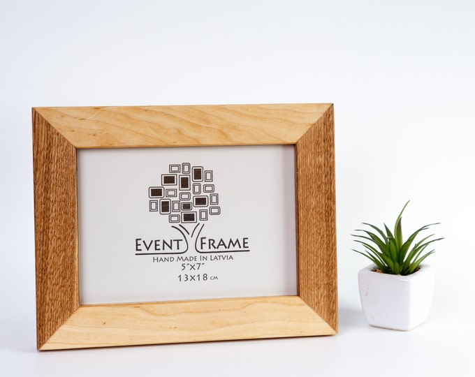 Oak + Birch Picture Frame