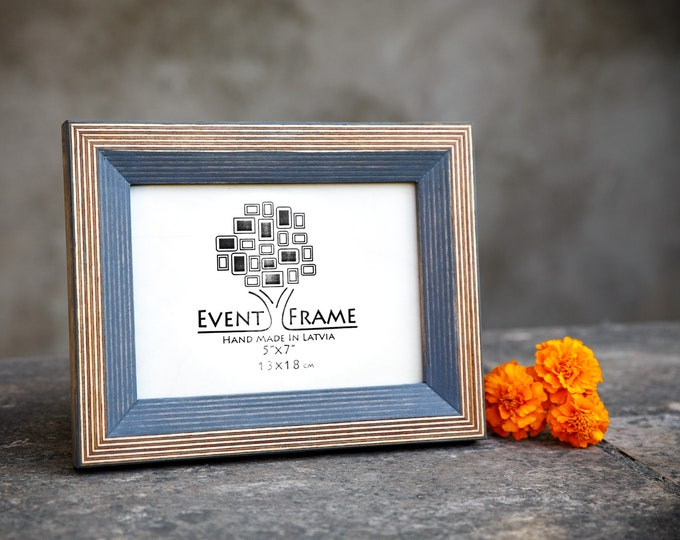 Newest Design Gray Wooden Picture Frame