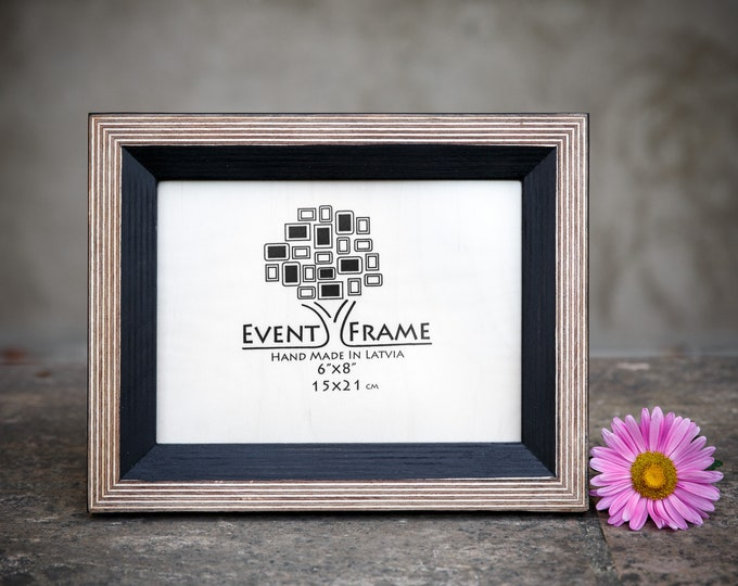 Newest Design Black Wooden Picture Frame