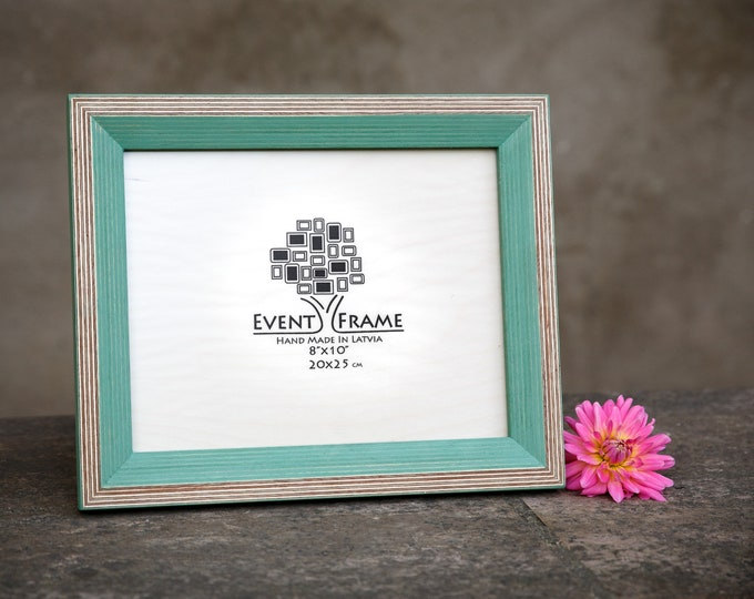 Newest Design Greeen Wooden Picture Frame