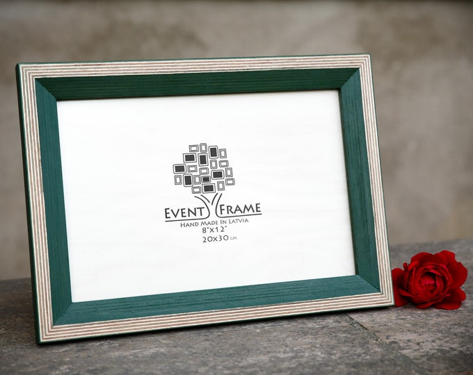 Newest Design Green Wooden Picture Frame