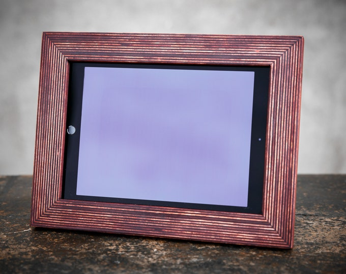 iPad Picture Frame Brown. Best For Your iPad