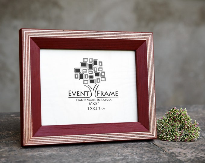 Newest Design Red Wooden Picture Frame