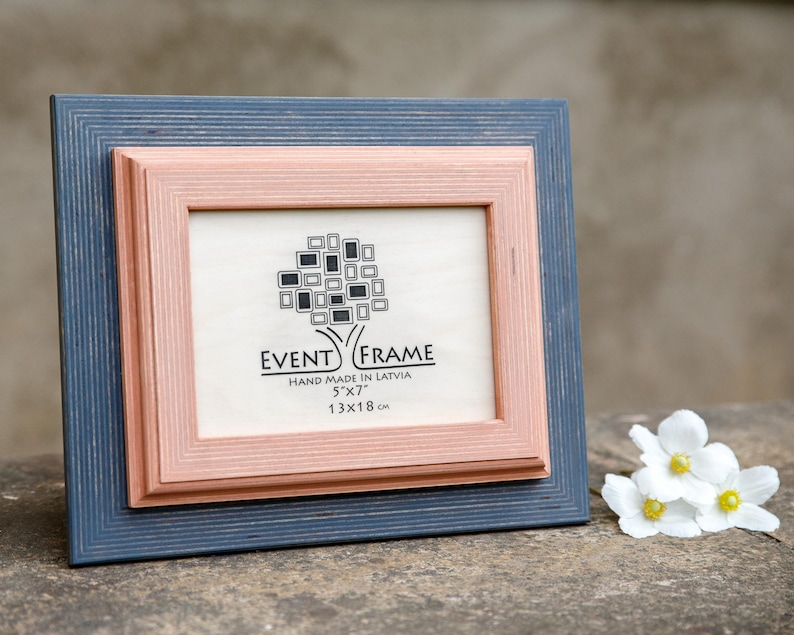 Rustic Frame SIZES \u2013 4x4 4x6 5x5 5x7 5.5x8.5 6x6 6x8 7x7 7x9 8x8 8x10 10x10 8x12 8.5x11 11x14 Pink Wooden Photo Frame Gray Picture Frame