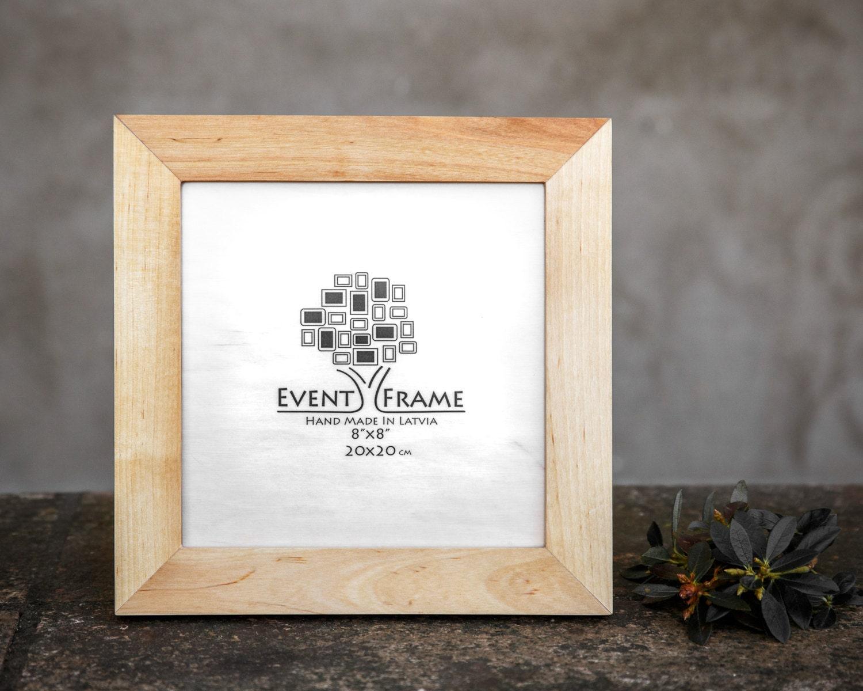 Holzbilderrahmen Birke-Fotorahmen quadratischen Rahmen aus | Etsy
