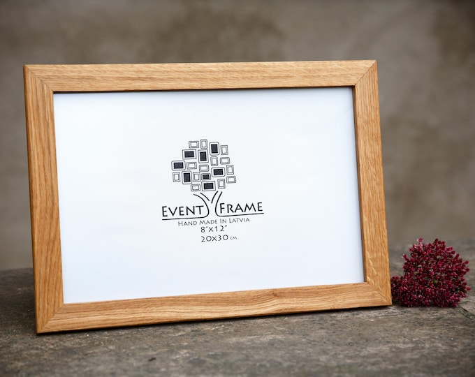 Oak Wooden Picture Frame With Moulding 25 mm